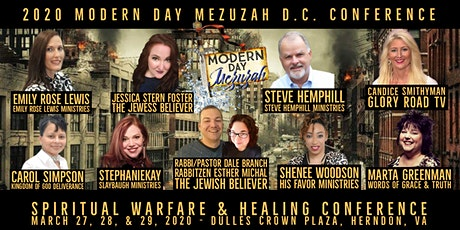 Modern Day Mezuzah Spiritual Warfare & Healing Conference- DC tickets