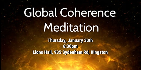 Global  Coherence Meditation Group tickets