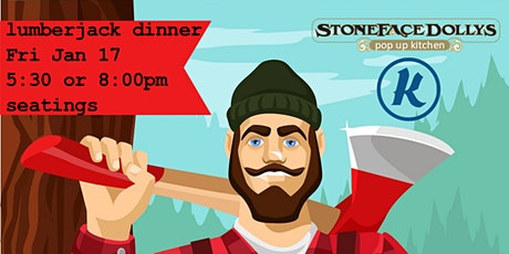 Lumberjack Dinner tickets