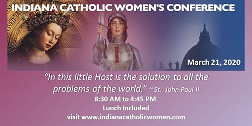 Indiana Catholic Women's Conference 2020