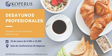 Desayuno Profesional en Barcelona entradas