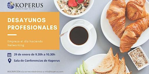 Desayuno Profesional en Barcelona
