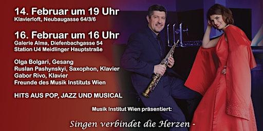 Sing Along Konzert zum Valentinstag - Hits aus Pop und Jazz