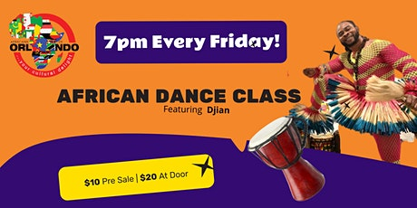 The Orlando African Dance Class tickets