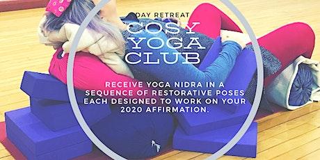 Cosy Yoga Club New Year's Day Retreat tickets