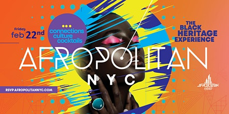 AfropolitanNYC - Black Heritage Experience - Black History Month & DNA Testing Cultural Mixer tickets