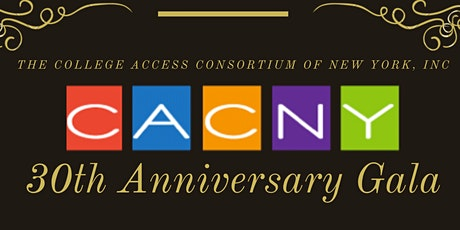 CACNY 30th Anniversary Gala tickets