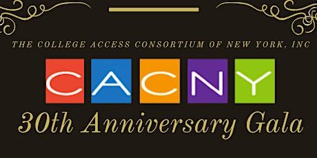 CACNY 30th Anniversary Gala tickets