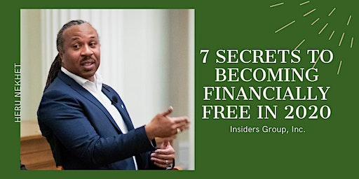 7 Secrets to Creating Financial Freedom in 2020
