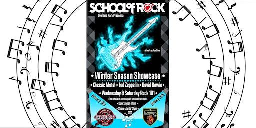 School of Rock Winter Season Showcase 2020 Show #1
