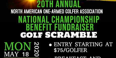Golf Scramble Fundraising Tournament to Benefit Disabled One-Armed Golfers tickets