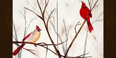 Cardinals Dual Canvas Paint Night tickets