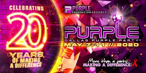 Purple Party® Weekend 2020
