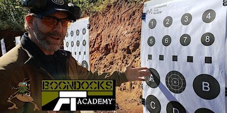 BOONDOCKS: October 10 & 11, 2020 Pistol Essentials & Beyond in Raymond, MS tickets