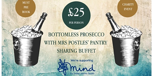 Bottomless Prosecco Event For MIND UK