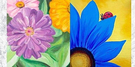 Spring Flowers Paint Night tickets