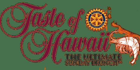 Taste Of Hawaii tickets