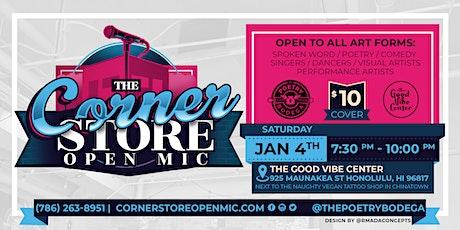 The Corner Store Open Mic tickets