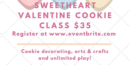 Kid's Valentine Cookie Decorating Class