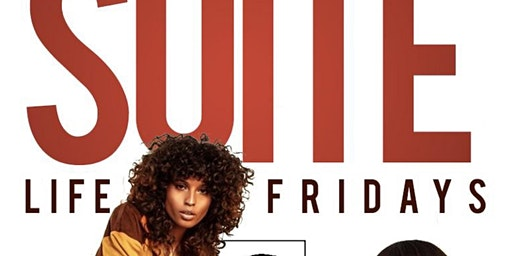 ATL's #1 FRIDAY NIGHT CELEBRATION! LIVE ON V-103 W/ BIG TIGGER & CELEB FRIENDS! #SuiteLifeFridays! Friday @ SUITE LOUNGE! Live on V103 each & every Friday! #SuiteLifeFridays! RSVP NOW! (SWIRL)