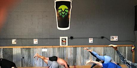 Beer Yoga at Rotator Taproom tickets