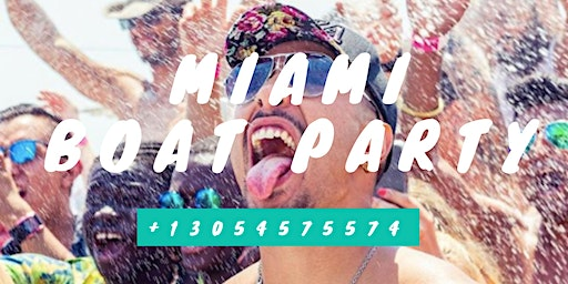 Miami Party Boat- Unlimited drinks- Miami Nightlife