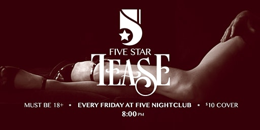 Five Star Tease 3/6 with Fay Ludes and Jimmie Swagger