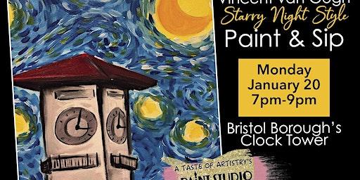 Paint & Sip Bristol Borough's Clock Tower