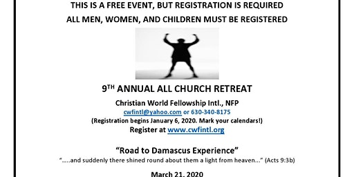 9th Annual All Church Retreat