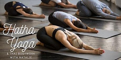 Hatha Yoga & Thai Bodywork with Natalie tickets