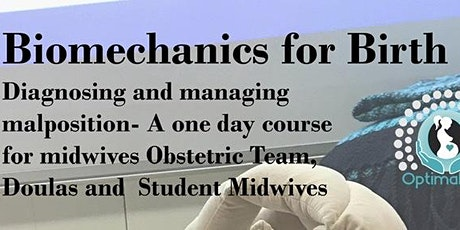 Biomechanics for Birth - for Midwives & Birth Workers incl Doulas, Obs Team tickets
