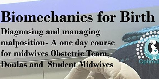 Biomechanics for Birth - for Midwives & Birth Workers incl Doulas, Obs Team