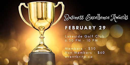 Business Excellence Awards Gala