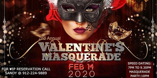 2nd Annual Valentines Day Masquerade party