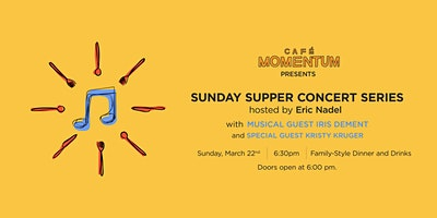 Sunday Supper Concert Series Hosted By Eric Nadel with Iris Dement