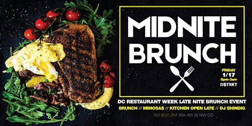 DC Restaurant Week Cajun Midnite Brunch