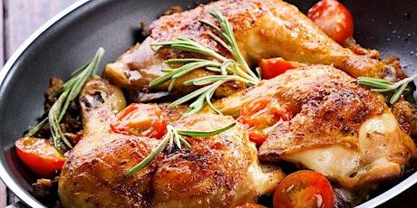 International Chicken Cooking Class -Fri, 3/6/20 at 7:00pm - YUMMY! tickets