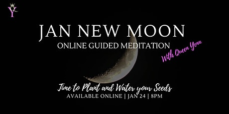 Jan New Moon Online Guided Meditation tickets