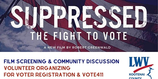 Suppressed Film Screening & Community Discussion