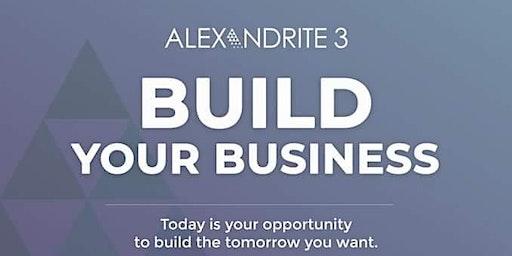Alexandrite 3 Build Your Business Career Preview Seminar