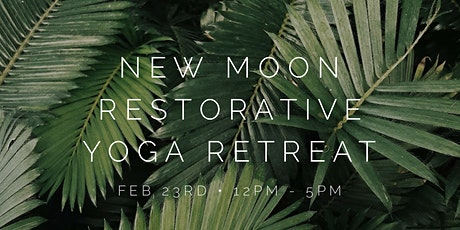 New Moon Restorative Yoga + Sound Bath Retreat tickets