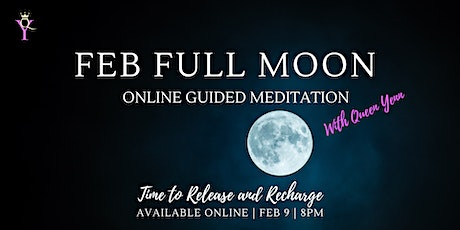 Feb Full Moon Online Guided Meditation  tickets
