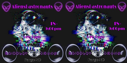 ALIENS&ASTRONAUTS UFO PARTY