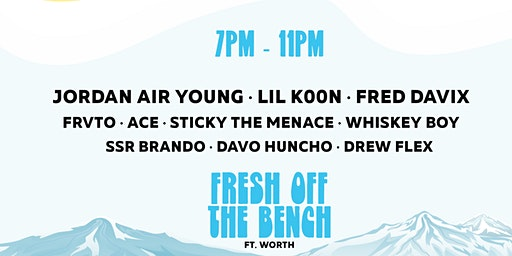 FRESH OFF THE BENCH - VOLUME 1