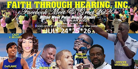 Faith Through Hearing 2020 FaceBook Meet & Greet tickets