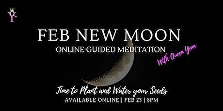 Feb New Moon Online Guided Meditation tickets