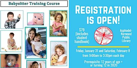 Babysitter Training Course tickets