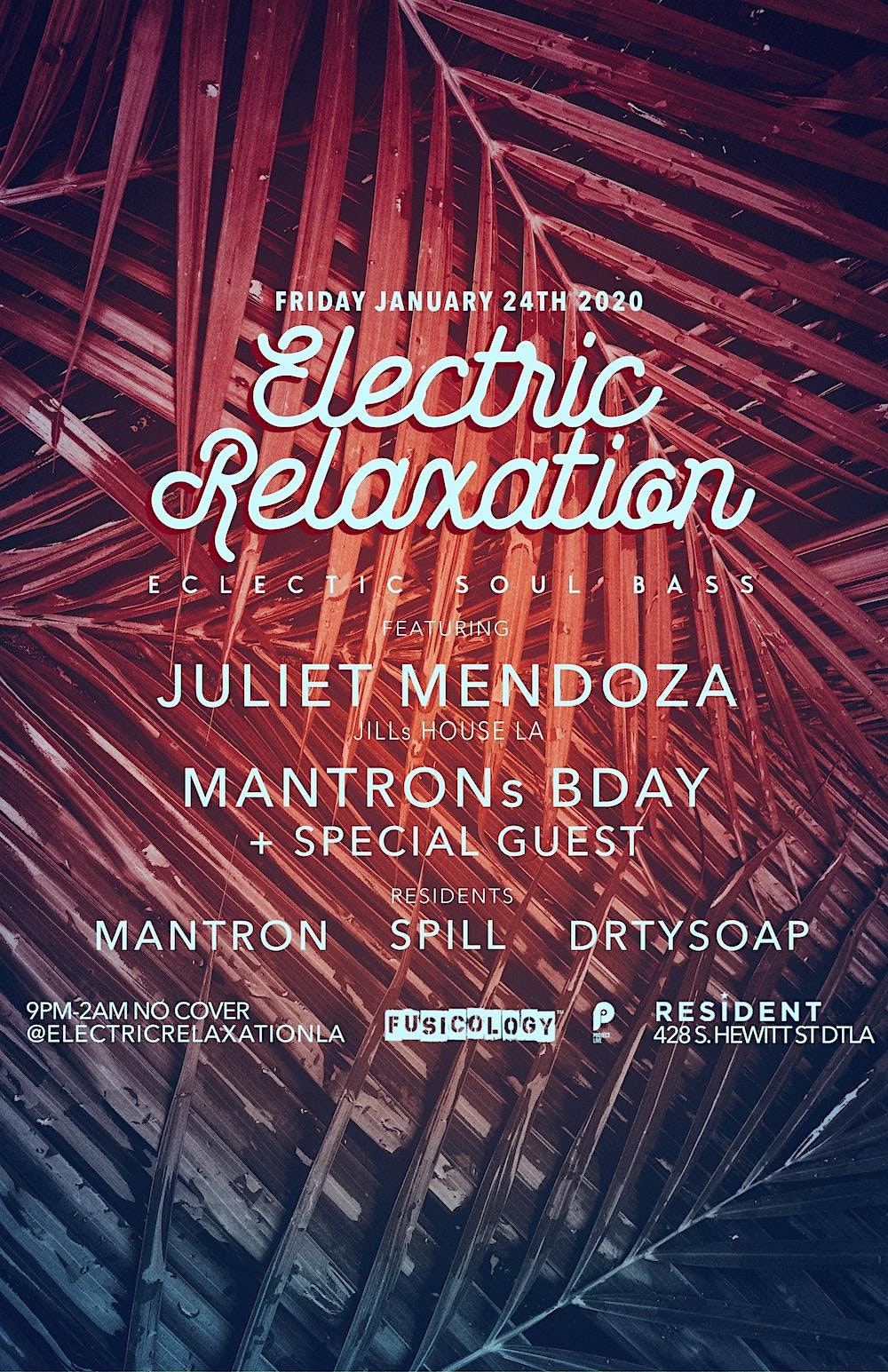Electric Relaxation: Bassey dance rhythms ft. DJ Juliet Mendoza (No Cover)