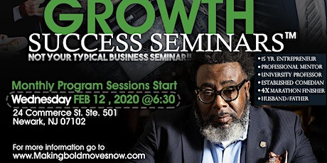Bold Moves, Bold Growth Success Seminars tickets