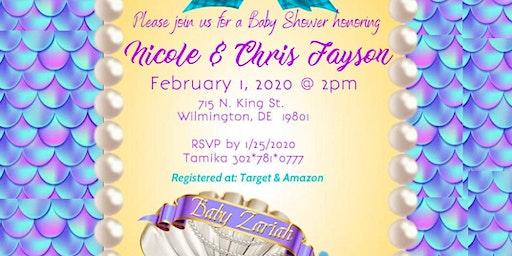 Baby Shower Honoring Nicole and Chris
